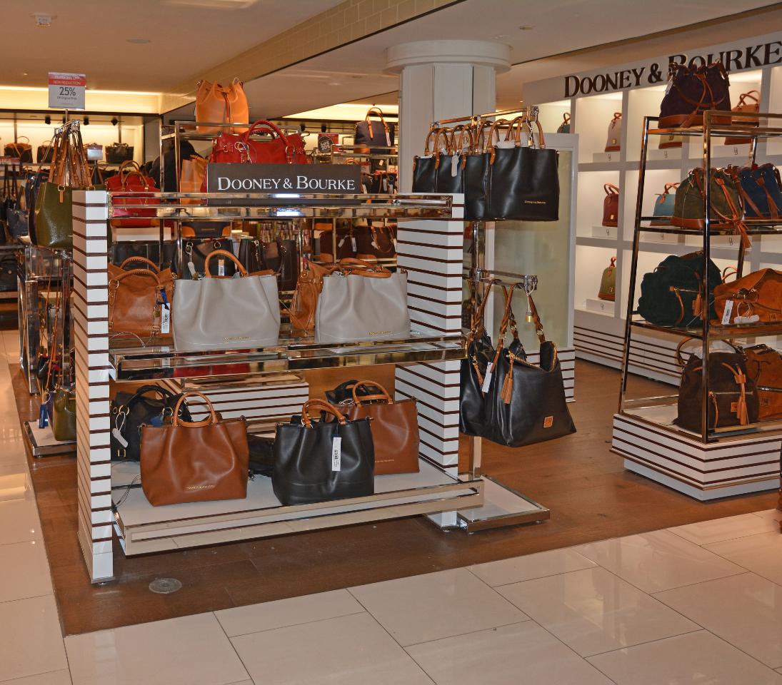 Dooney & Burke Store In Store Retail Interior By Visual