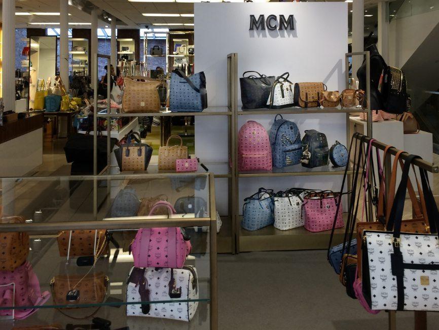 Image Of Retail Interior In Custom Handbag Display Project For Mcm At