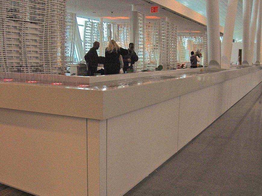 Virgin Atlantic Lounge Jfk Commercial Interior By Visual